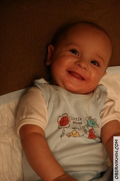 А вот и улыбка :)