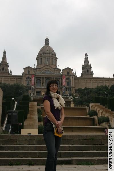 вид на музей Каталонии
